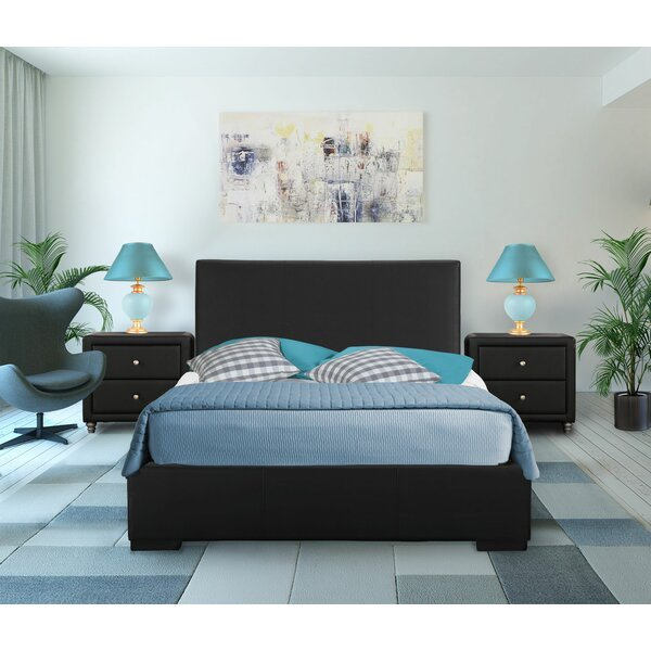 Hindes Platform 2 Piece Bedroom Set by Ebern Designs