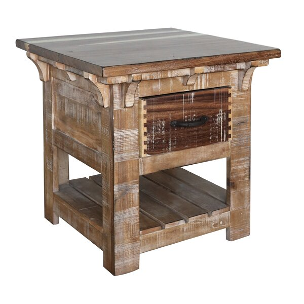 San Angelo End Table by Artisan Home Furniture