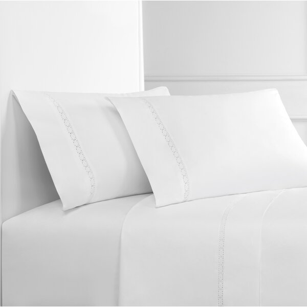 Antwan 300 Thread Count Percale 4 Piece Sheet Set by Mistana