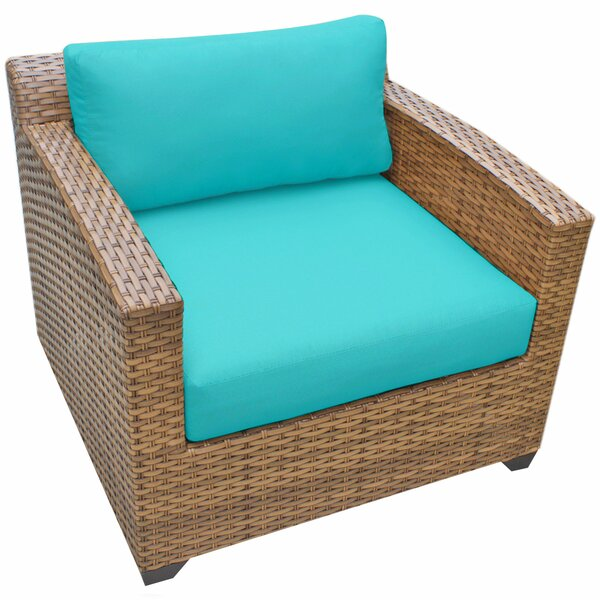 Asellus Patio Chair with Cushions by Brayden Studio