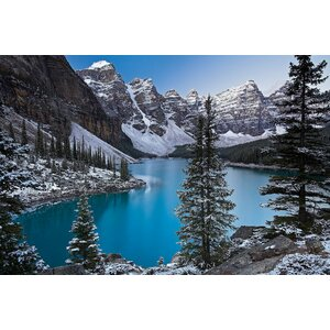 Jewel of the Rockies Photographic Print on Wrapped Canvas by East Urban Home