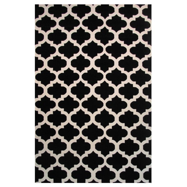 Botticelli Black Area Rug by L.A. Rugs