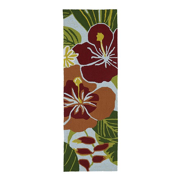 Jamaica Hand-Tufted Indoor/Outdoor Area Rug by Bay Isle Home