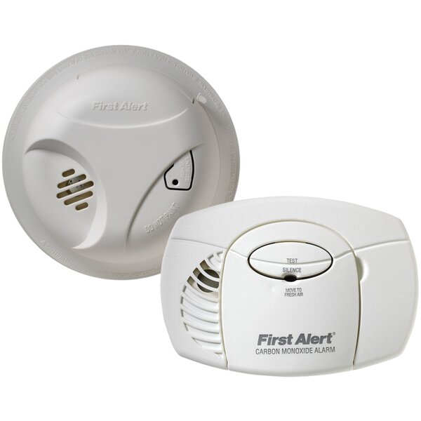 Smoke Alarm and Carbon Monoxide Detector by First