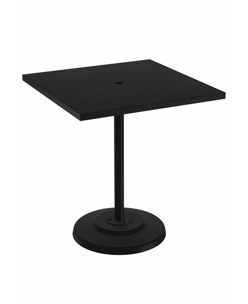 Ion Aluminum Dining Table by Tropitone