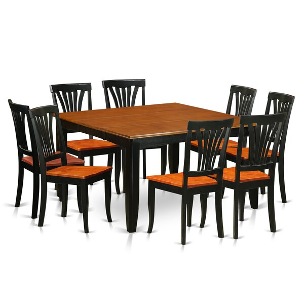 Parfait 9 Piece Dining Set By Wooden Importers by Wooden Importers 2019 Coupon