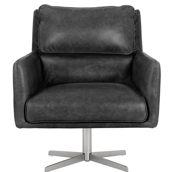 Shallon Swivel Armchair By Orren Ellis