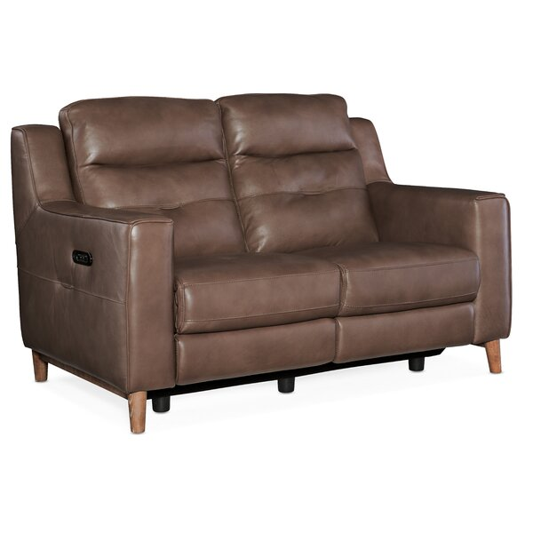 Best #1 Lachlan Leather Reclining Loveseat By Hooker Furniture 2019 Sale