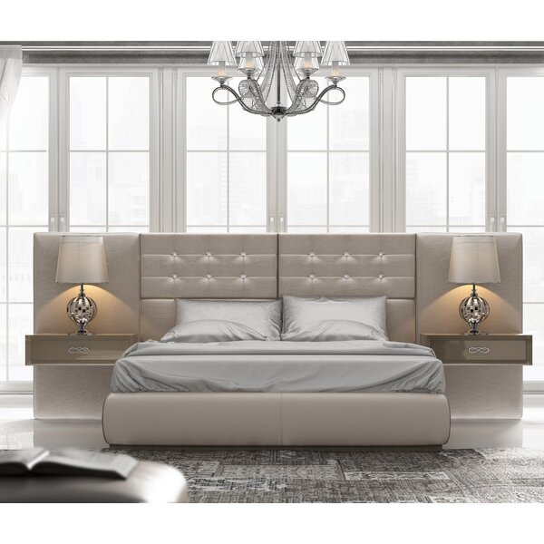 Knorr Standard Bed by Everly Quinn