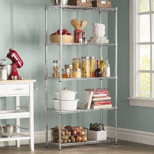 Wayfair Basics 5 Shelf Shelving Unit