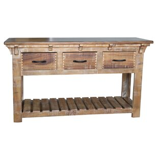 Robson Console Table with 3 Drawer