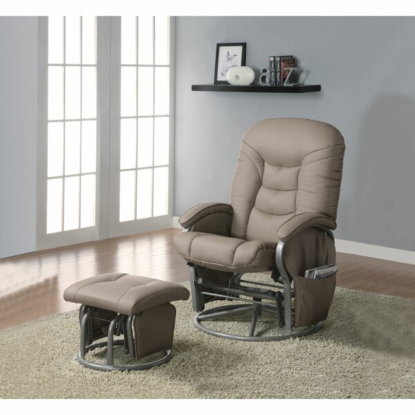 Daan Contemporary Manual Glider Recliner W001188078