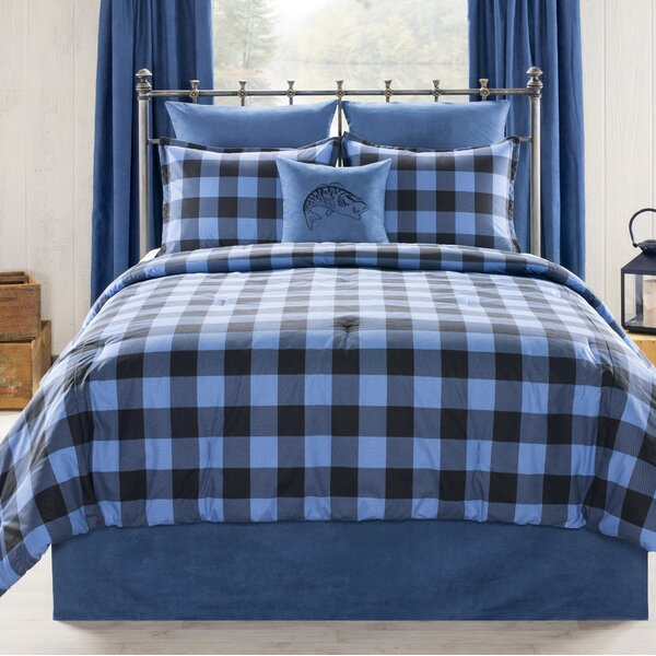 Vanburen Still Lake Cabin and Lodge Comforter Set
