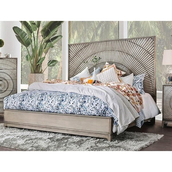 Queen Bed with Mattress by Williams Import Co.