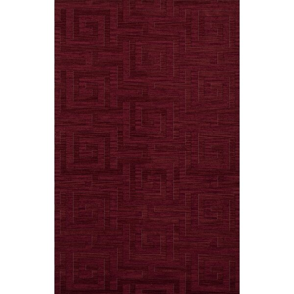 Dover Tufted Wool Rich Red Area Rug by Dalyn Rug Co.