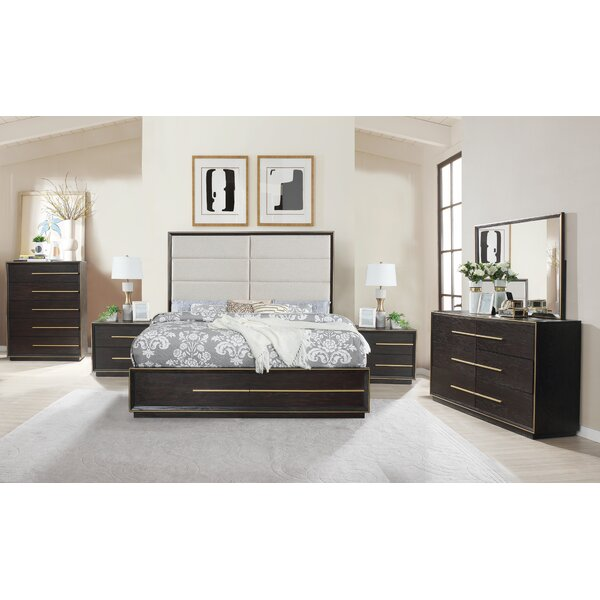 Blairstown Solid Wood 5 Piece Bedroom Set by Everly Quinn