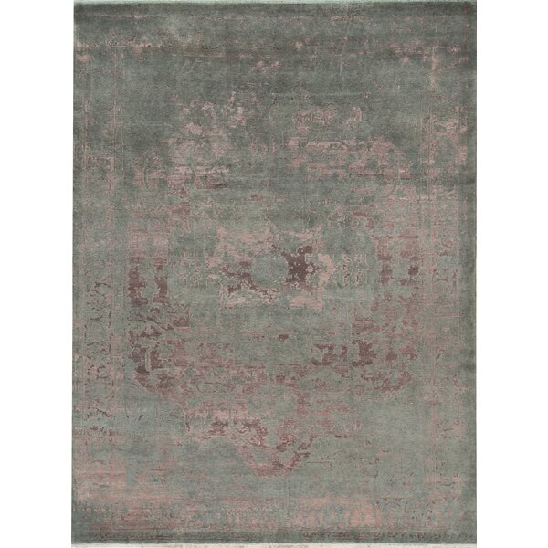 Neo Villa Hand-Knotted Pink Area Rug