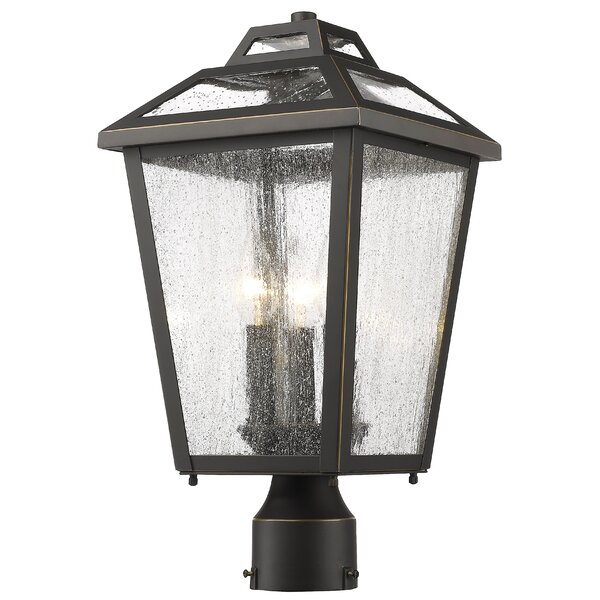 Croll 3-Light Lantern Head by Breakwater Bay