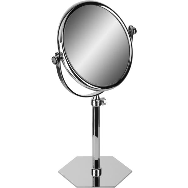 Hundley Hexagonal Double-Sided Extendable Makeup/Shaving Mirror by Alcott Hill