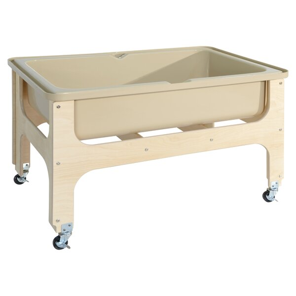 Deluxe Sand and Water Table by Wood Designs