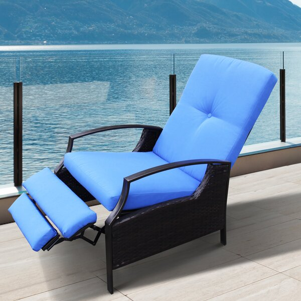 Tamia Patio Chair with Cushion by Red Barrel Studio