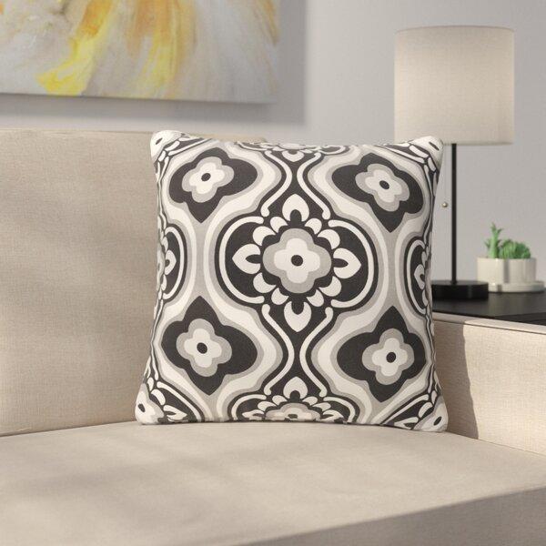 Murrin Blossom Cotton Throw Pillow by Ebern Designs