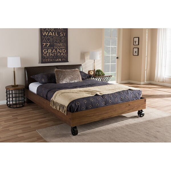 Swaffham Upholstered Platform Bed by Williston Forge