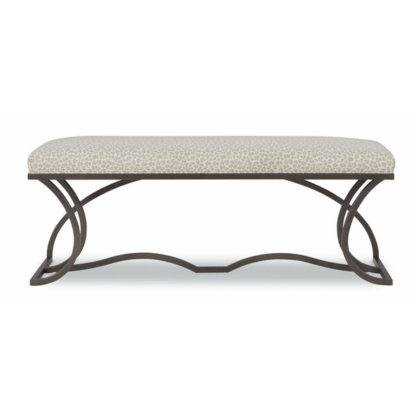 Serenity Metal Bench by Fine Furniture Design