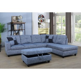 Blue Sectional Sofas You Ll Love Wayfair