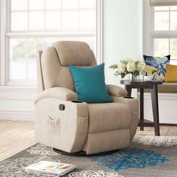 Swivel Rocker Reclining Heated Full Body Massage Chair W002020764