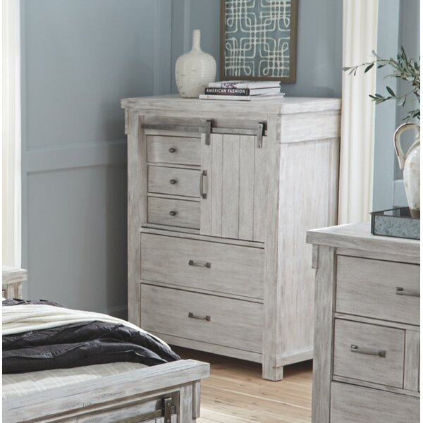 Rovner 5 Drawer Chest by Gracie Oaks