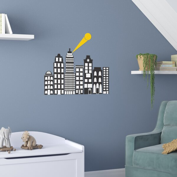 Herkimer City of Heroes 9 Piece Wall Decal Set by Zoomie Kids