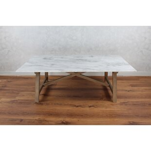 Best Choices Bertina Marble Coffee Table Gracie Oaks