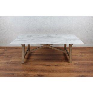 Bertina Marble Coffee Table Gracie Oaks