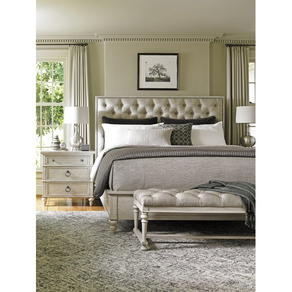Oyster Bay Upholstered Panel Bed by Lexington