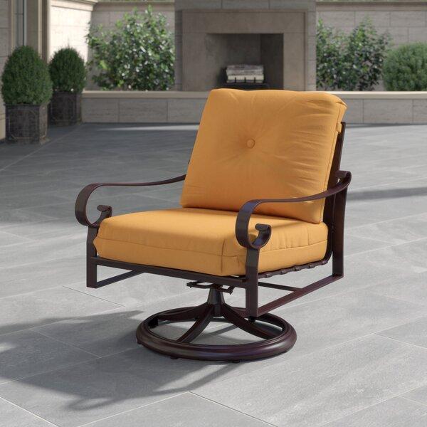 Belden Rocking Swivel Patio Chair by Woodard