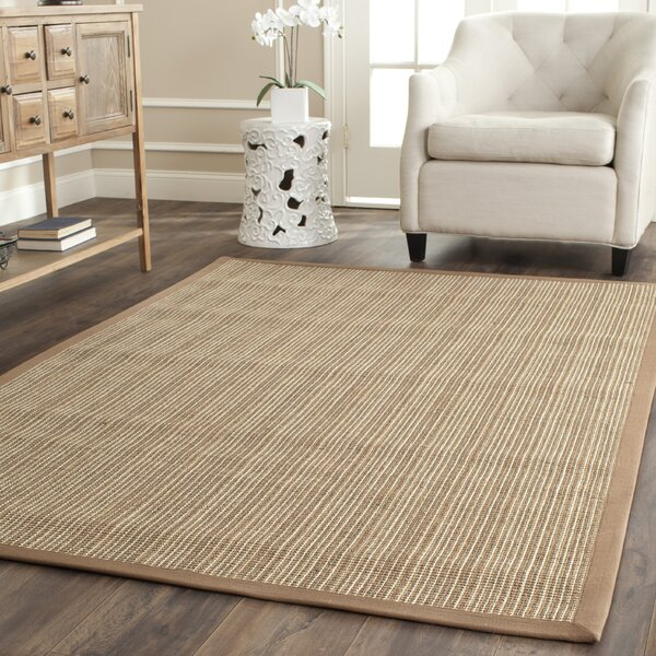 Palanga Tan Area Rug by Beachcrest Home