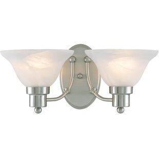 Reviews Bristol 2-Light Vanity Light By Hardware House