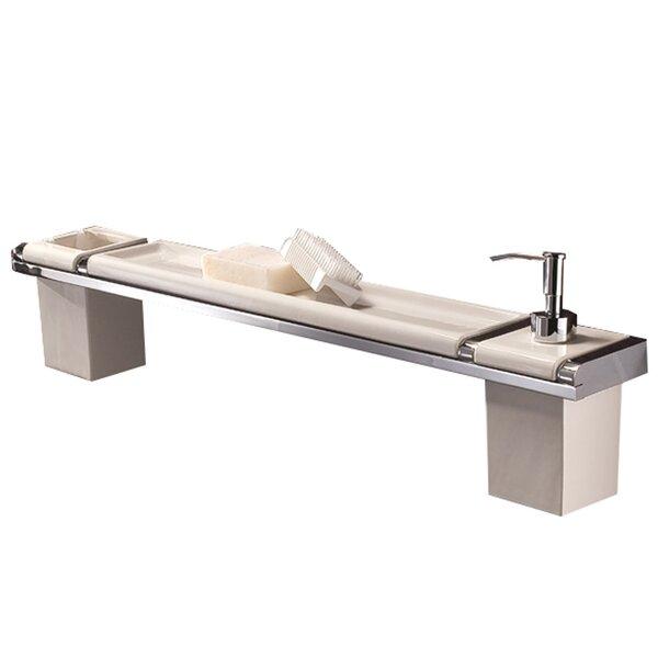 Musa Shelf 3-Piece Bathroom Accessory Set by Hispania Home