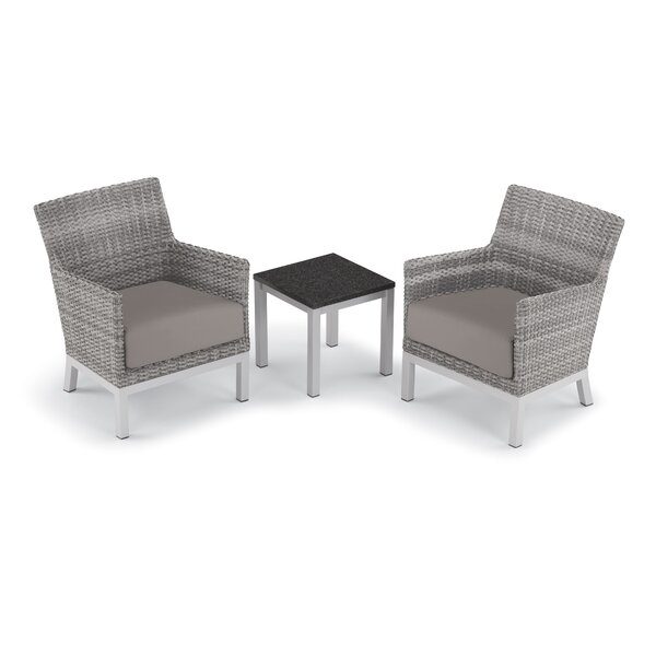Saint-Pierre 3 Piece Seating Group with Cushions by Brayden Studio