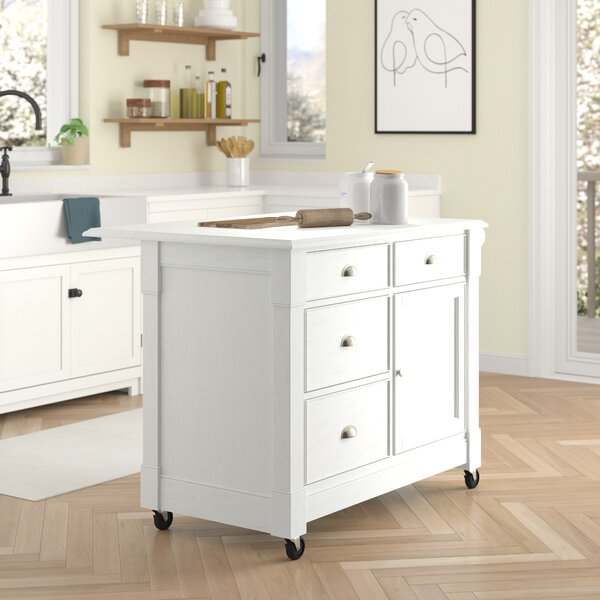 Pandora Kitchen Cart by Ebern Designs