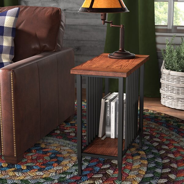 Perao End Table by Alcott Hill