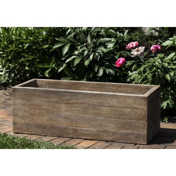 Brewington Cast Stone Window Box Planter by Foundry Select