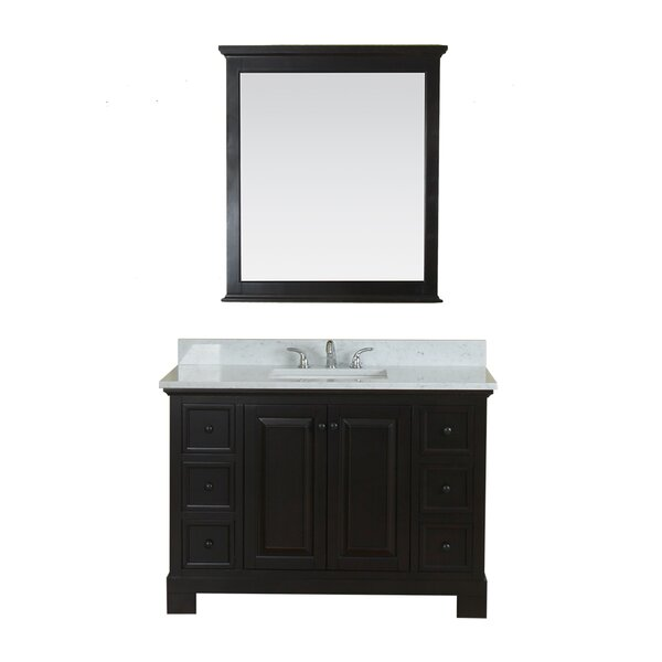 Cothern 48 Single Bathroom Vanity Set with Mirror by Red Barrel Studio
