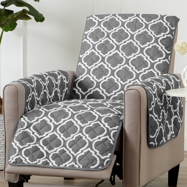Printed Reversible T-Cushion Slipcover by Winston