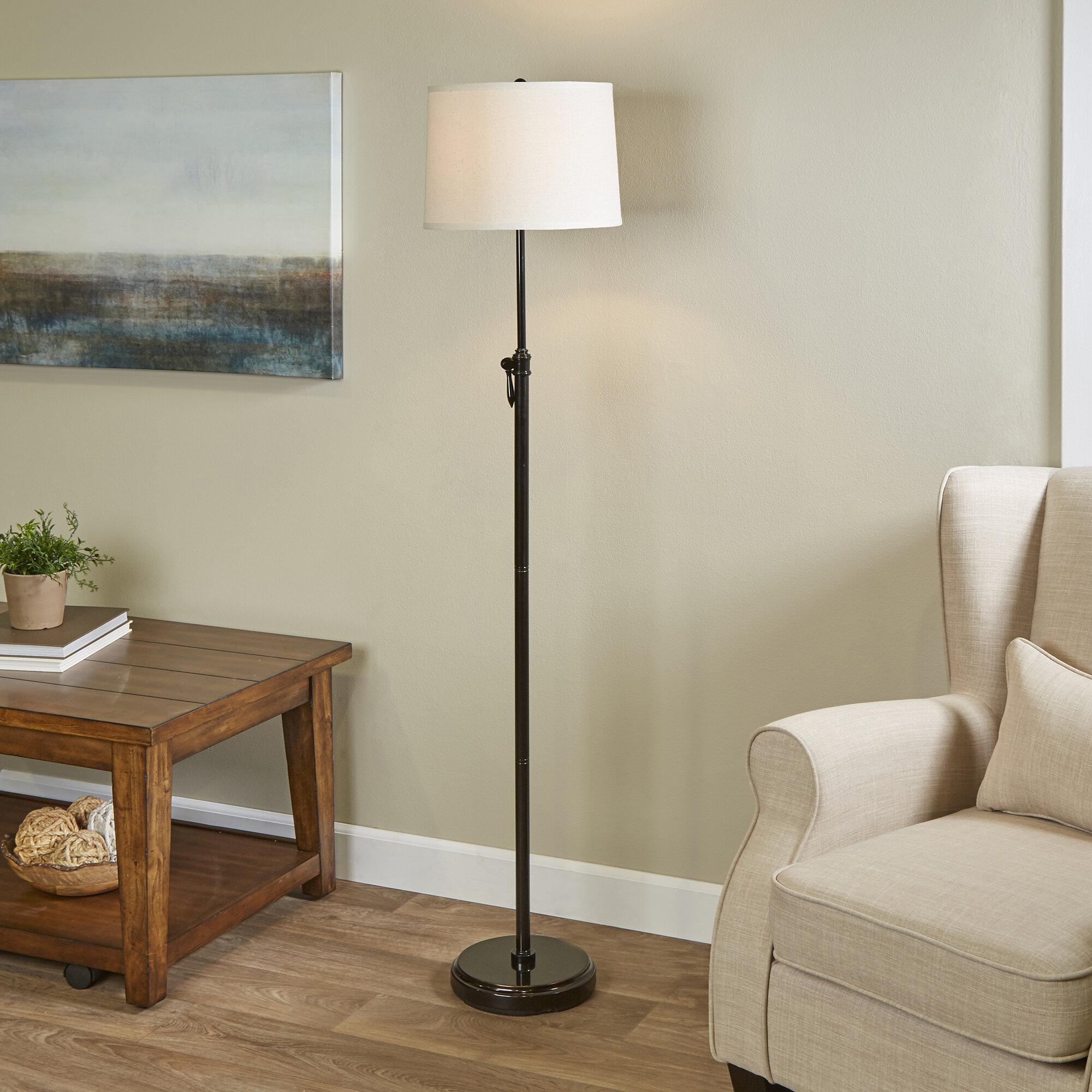 Superb Darla 64 5 Floor Lamp Theyellowbook Wood Chair Design Ideas Theyellowbookinfo