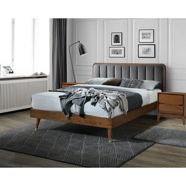 Mahalia Platform Solid Wood 3 Piece Bedroom Set by George Oliver