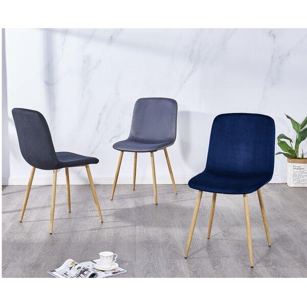 Fruitvale 4 Piece Upholstered Dining Chair Set (Set of 4) by Mercer41 Mercer41