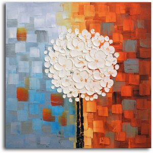 Make a Wish' Oil Painting on Canvas by Omax Decor