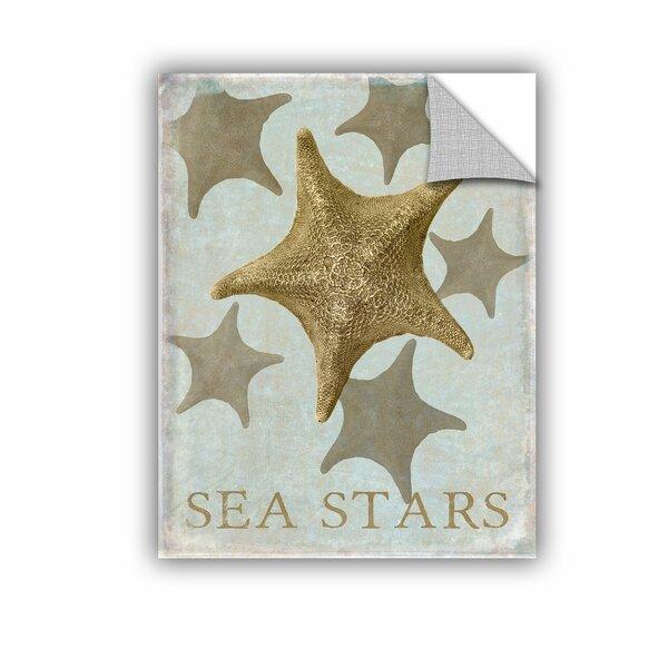 Ramonita Sea Star III Wall Mural by Highland Dunes